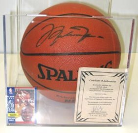 Michael Jordan Autograph Basketball