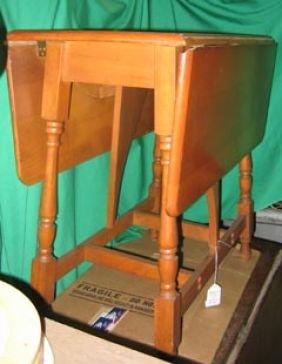 Kitchen Table C1950 Maple