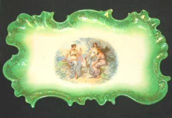 351: Vanity  Tray Carlsbad Porcelain