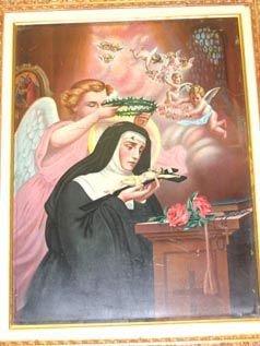 353: Antique Art on Tin Religious