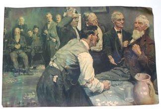 356: Print Jury Room 1909 by Brett