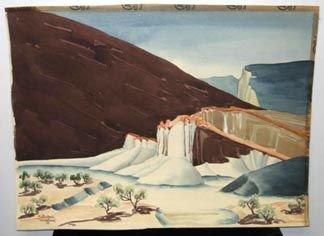 357: Younglove California Art Watercolor