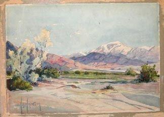 358: Wagoner California Watercolor Art