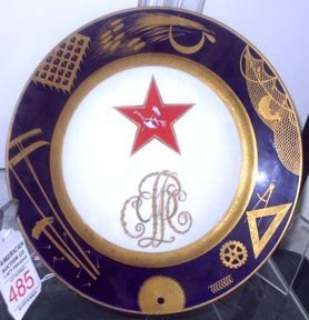 485: Russian Republic Worker Plate