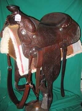 Western Americana Equipment Saddle