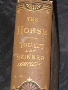 Western Americana Antique Horse Book