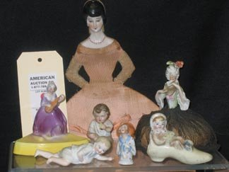 9: Victorian Bisque Figural Lot
