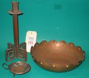 161: Arts Crafts Copperware