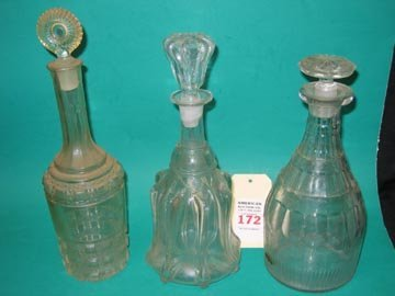 172: Barware Antique Glass