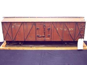 207: Railroad Movie Prop