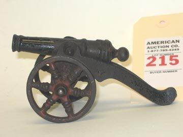 215: Cast Iron Civil War Cannon