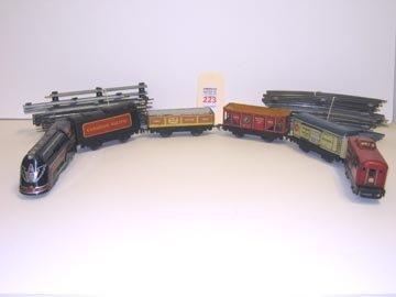 223: Tin Litho Wind-Up Train