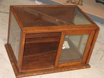 227: Antique Counter Top Display Case