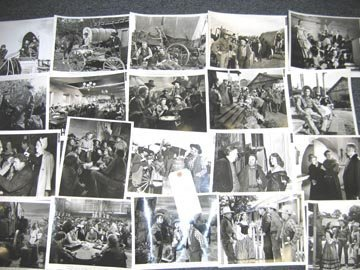 503: Hollywood Western 1940's Publicity Photo Lot