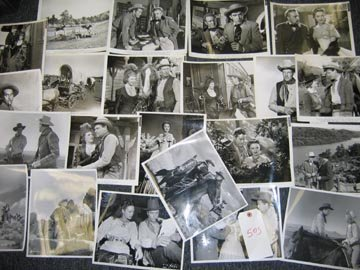 505: Hollywood Western 1940's Publicity Photo Lot