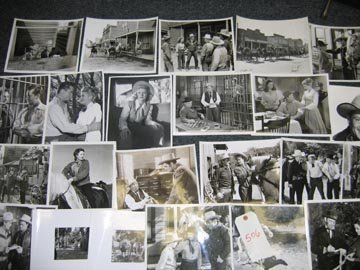 506: Hollywood Western 1940's Publicity Photo Lot