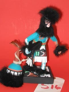 516: Native American Kachina Doll