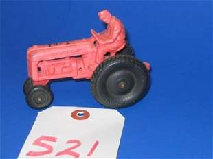 Toy Tractor Vintage Toy