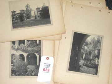 623: Abbott Coldwell Photo Album Pasadena 1920