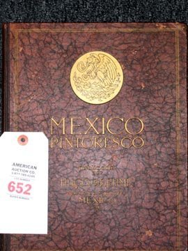 652: Hugo Brehme 1923 Mexico Photo Book