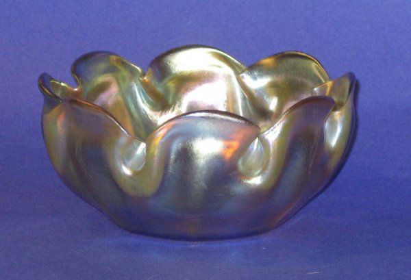 Tiffany Art Glass Bowl