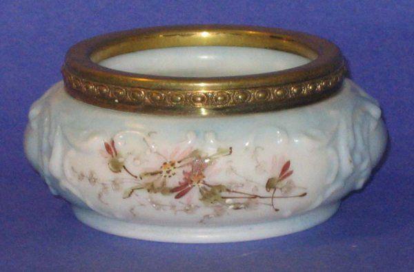 Victorian Wave Crest Glass Trinket