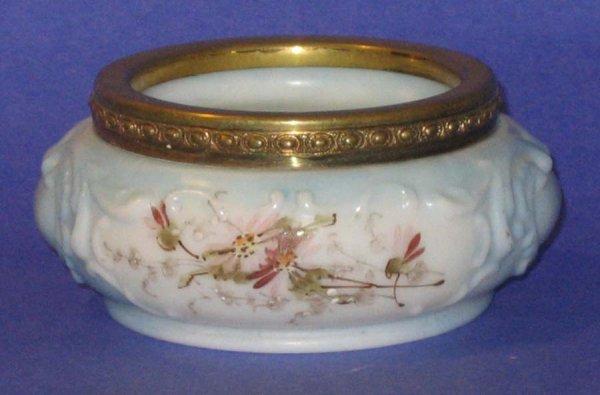 165: Victorian Wave Crest Glass Trinket