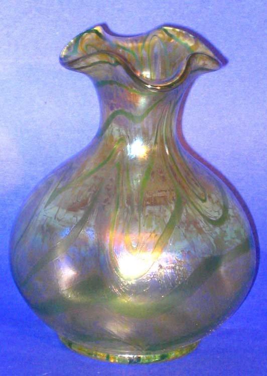 167: Loetz Art Glass Vase