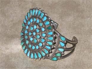 Zuni Turquoise Bracelet