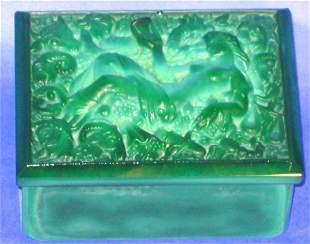 Malachite Vanity Box Astrological