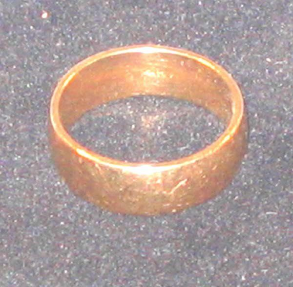 Classic 14k Gold Band Ring