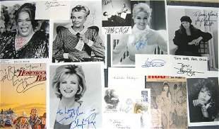 Autograph Lot Famous Females
