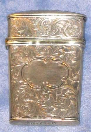 1852 Sterling Needle Holder Safe