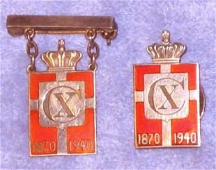 Jensen Sterling Royal Pin Lot