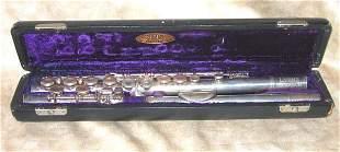 Vintage Lyons Monarch Flute