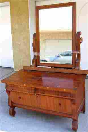 Vintage Empire Mirrored Dresser