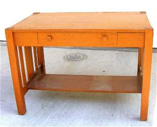 Arts Crafts Library Table