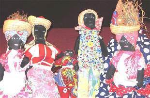 Vintage Black Americana Dolls