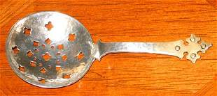 Shreve Sterling Confection Spoon