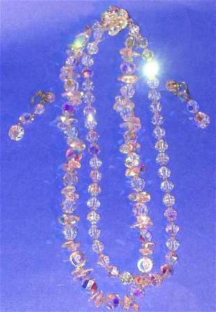 Swarovski Necklace Suite