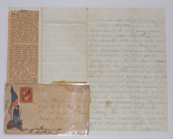 516: Civil War Soldier Battle Letter