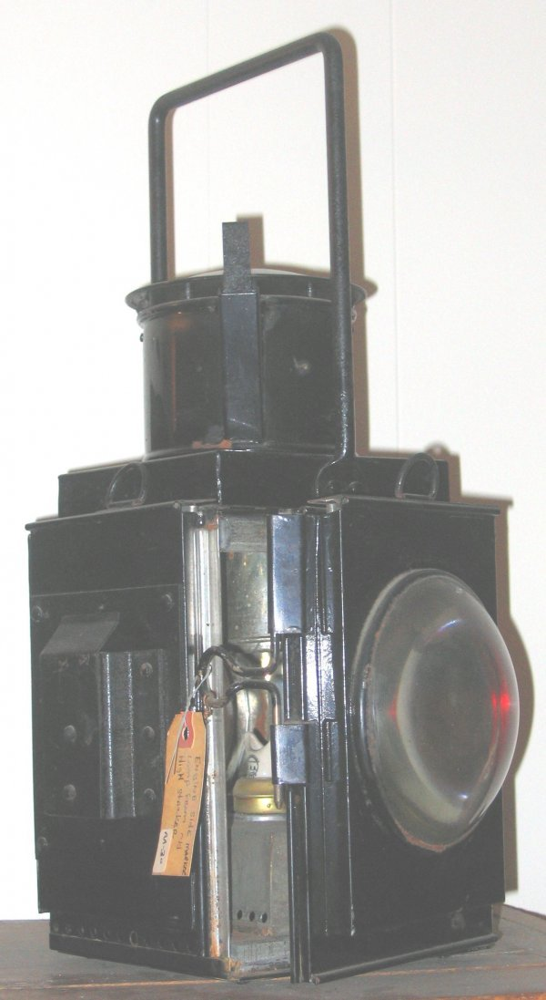 684: Railroad Engine Lamp