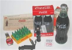 706: Coca Cola Collectible Lot