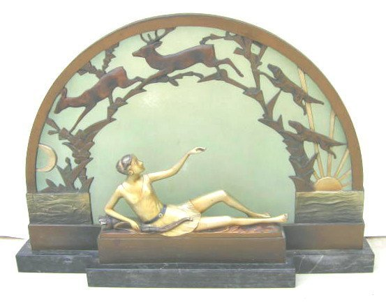 1: Art Deco Lamp Diana
