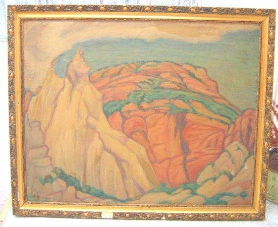 3: Adele Watson Painting