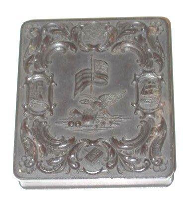 8: Union Case Daguerreotype Patriotic