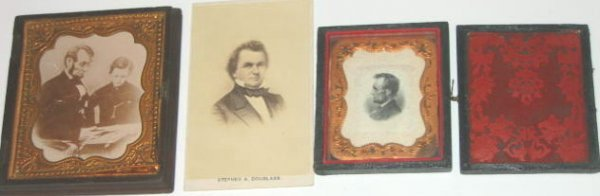11: Lincoln Douglas CDV Dag Todd Lincoln Lot