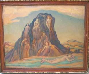 Adele Watson Painting