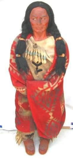 Skookum Store Display Indian