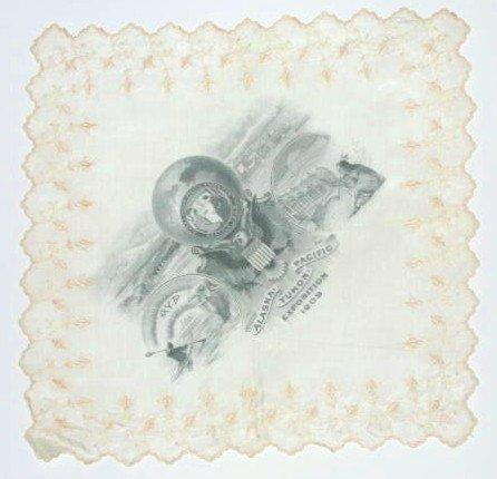24: 1909 Yukon Expo textile